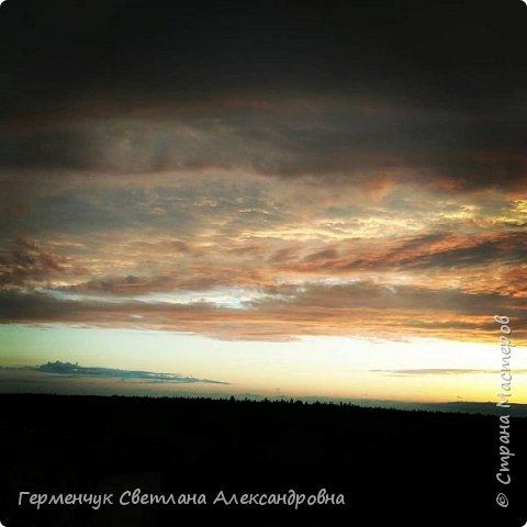 """Фоторепортаж моей дочери """"Вечернее небо перед дождем""""  Снимки сделаны с 9 этажа фото 3"""