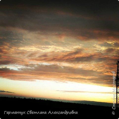 """Фоторепортаж моей дочери """"Вечернее небо перед дождем""""  Снимки сделаны с 9 этажа фото 2"""