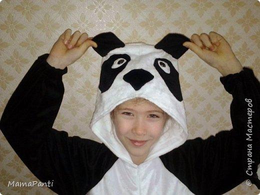 Кигуруми- панда. фото 1