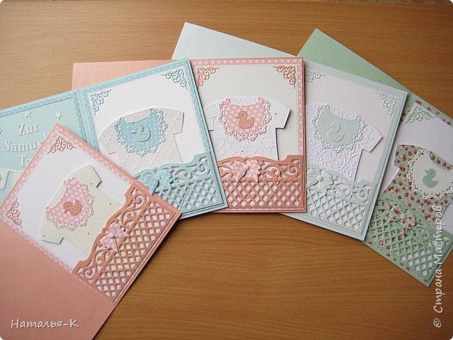 Добрый день или вечер всем, кто заглянул ко мне в гости! Покажу вам сегодня моё скопление открыток... я их много сделала, показываю только часть из них, потому что их много одинаковых. Весна у нас - сезон крестин. фото 2