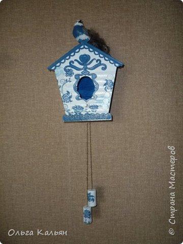 Старый дверной звонок превращается в интерьерный скворечник. фото 1