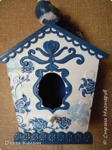 Старый дверной звонок превращается в интерьерный скворечник. фото 8