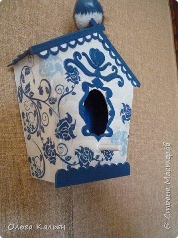 Старый дверной звонок превращается в интерьерный скворечник. фото 11