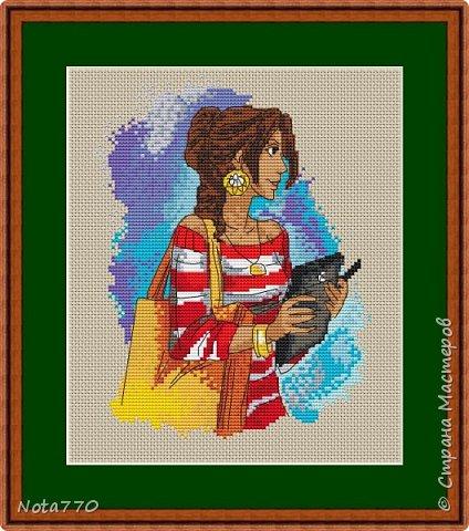 Бендер - мотиватор Вот такой вот юмор от Футурамы. Если делать открыткой, то фон можно не зашивать, а взять цветную канву, если решите оформить в рамку, то для гармонии фон можно вышить как крестом, так и полукрестом. Количество цветов: 7 чистых, палитра DMC Размер: 80х118 крестиков Счетный крест, бэкстич фото 8