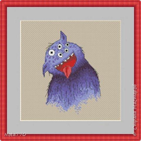 Бендер - мотиватор Вот такой вот юмор от Футурамы. Если делать открыткой, то фон можно не зашивать, а взять цветную канву, если решите оформить в рамку, то для гармонии фон можно вышить как крестом, так и полукрестом. Количество цветов: 7 чистых, палитра DMC Размер: 80х118 крестиков Счетный крест, бэкстич фото 10