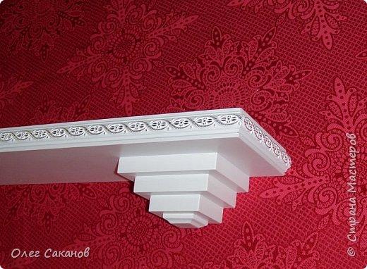 Полка декоративная прямая фото 4