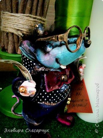 Текстильные куклы ручной работы. фото 10