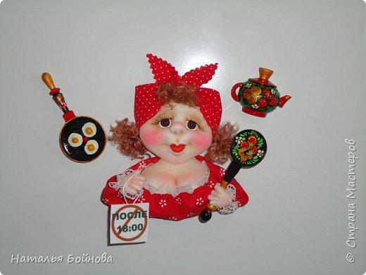 """Магнит на холодильник - кукла из серии """"Аппетитные дамы"""" фото 5"""