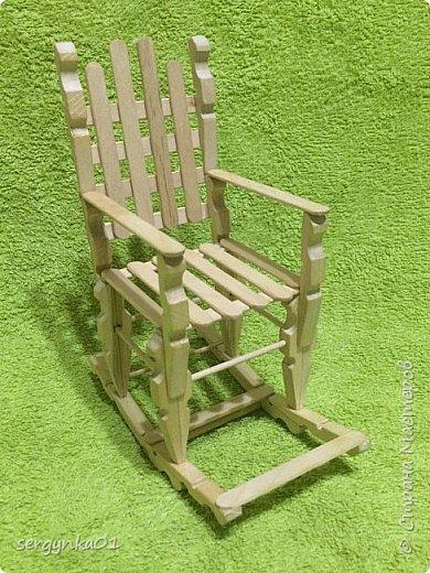 Кресло-качалка для куклы Барби фото 1