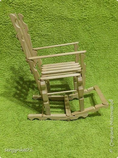 Кресло-качалка для куклы Барби фото 3