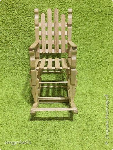 Кресло-качалка для куклы Барби фото 2