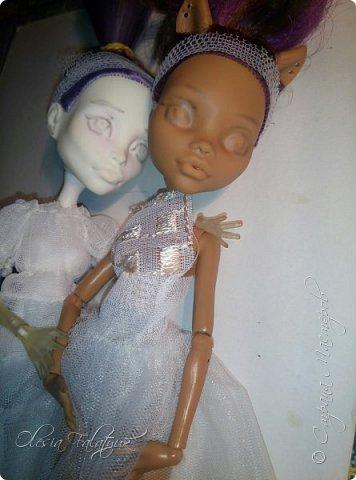 Я решилась на такое дело как ООАК ) Давненько присматривалась к этому и вот пришло! Это мои первые куколки. Купила оригинальные и б/ у. Можно начинать тренироваться)  фото 12
