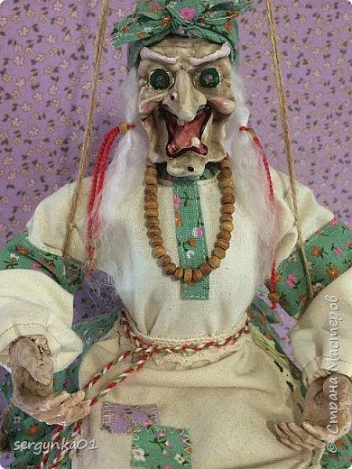 """Кукла была куплена в 2005 году. На тот момент - это была китайская кукла """"Ведьма"""", но образ ее не нравился в отличии от общей задумки куклы.  фото 1"""