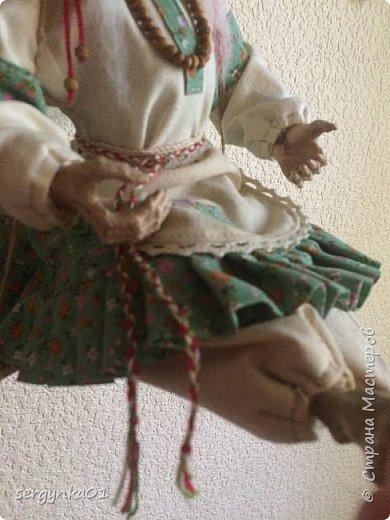 """Кукла была куплена в 2005 году. На тот момент - это была китайская кукла """"Ведьма"""", но образ ее не нравился в отличии от общей задумки куклы.  фото 5"""