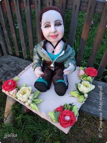 Кукла на сладкой полянке фото 2