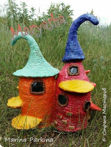 На этот раз сказочные домики... для эльфов, гномов, фей.. кому как нравится))) Вид спереди... фото 2