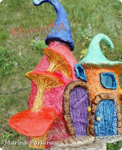 На этот раз сказочные домики... для эльфов, гномов, фей.. кому как нравится))) Вид спереди... фото 3