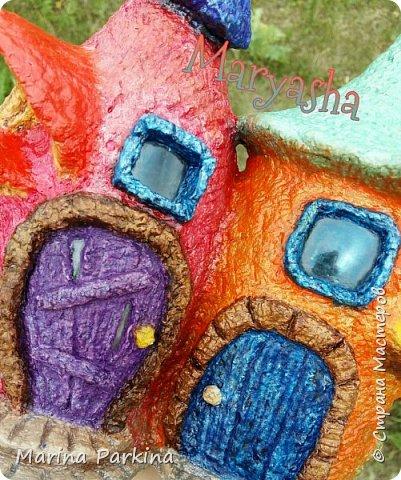 На этот раз сказочные домики... для эльфов, гномов, фей.. кому как нравится))) Вид спереди... фото 4