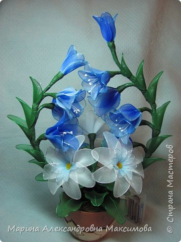 """Светильник """"Лилии"""" переливается плавно разными цветами.  фото 11"""