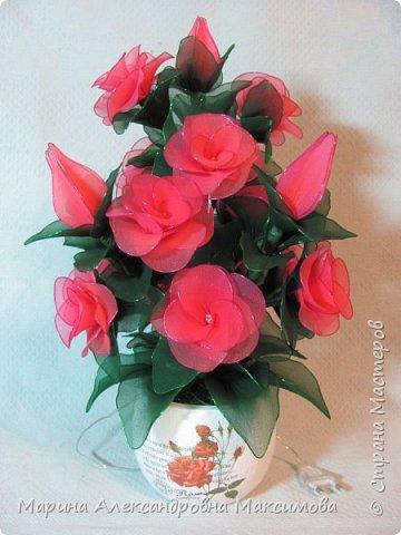 """Светильник """"Лилии"""" переливается плавно разными цветами.  фото 9"""