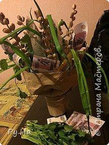 Ну начну с конца. 2 корзинки: коричневая в технике корневого плетения. Плела ее больше месяца. Оч люблю ее. фото 22