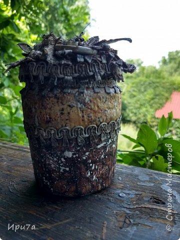 Баночка ароматная, пахнет кофе и корицей. фото 1