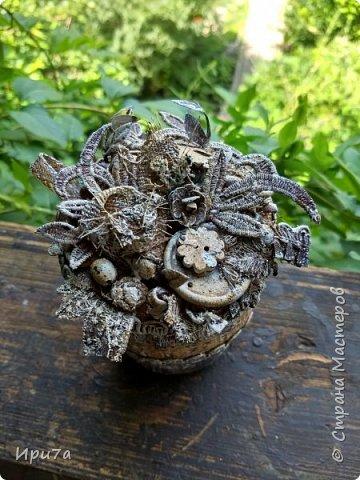 Баночка ароматная, пахнет кофе и корицей. фото 2