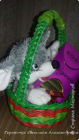 Добрый вечер !!!  Вот такая  получилась у меня   конфетница с плетеным донышком  .                                                                   фото 17