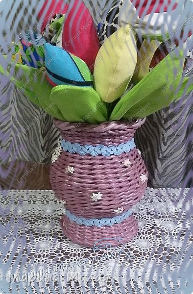 Всем доброго времени суток!!! Вот такие вазы с цветами в подарок к дням рождения на радость для интерьера у меня сотворились... фото 5