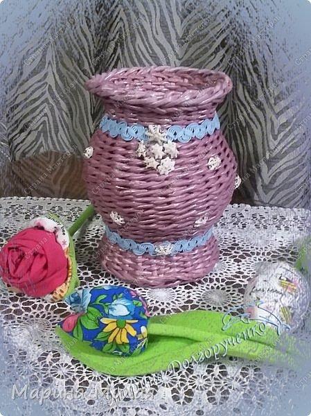 Всем доброго времени суток!!! Вот такие вазы с цветами в подарок к дням рождения на радость для интерьера у меня сотворились... фото 2