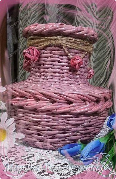 Всем доброго времени суток!!! Вот такие вазы с цветами в подарок к дням рождения на радость для интерьера у меня сотворились... фото 11