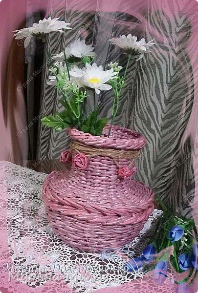 Всем доброго времени суток!!! Вот такие вазы с цветами в подарок к дням рождения на радость для интерьера у меня сотворились... фото 6