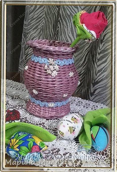 Всем доброго времени суток!!! Вот такие вазы с цветами в подарок к дням рождения на радость для интерьера у меня сотворились... фото 14