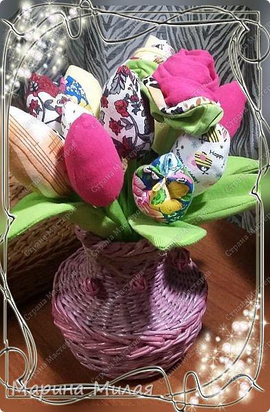Всем доброго времени суток!!! Вот такие вазы с цветами в подарок к дням рождения на радость для интерьера у меня сотворились... фото 13