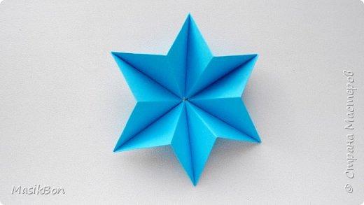 Оригами звезда из бумаги ⭐ Как сделать объёмную звезду из бумаги