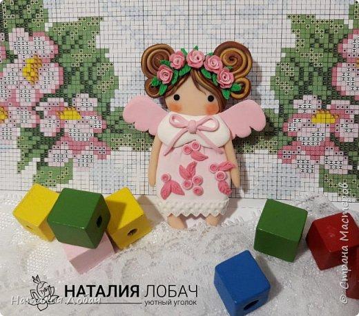 Брошки - малышки!!! Милые куколки высотой всего 6 см. Изготовлены из запекаемой полимерной глины, все элементы выполнены вручную.  фото 2