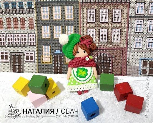 Брошки - малышки!!! Милые куколки высотой всего 6 см. Изготовлены из запекаемой полимерной глины, все элементы выполнены вручную.  фото 1