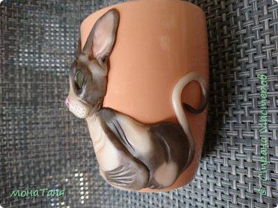 Чашка с сфинксом фото 2