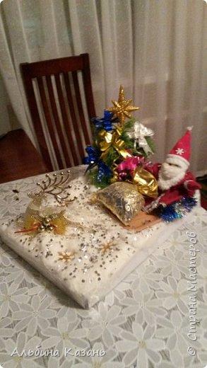 Новогодние поделки 2013.2015год фото 1