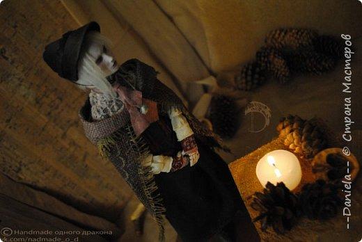 Взялась переделывать лица старым куклам, дошло дело и до моей собственно Куклы...  Кукла - потому что она по игре Bloodborne  именно Кукла) Doll, короче.  Ее первоначальный вариант - https://stranamasterov.ru/node/1089737 фото 5