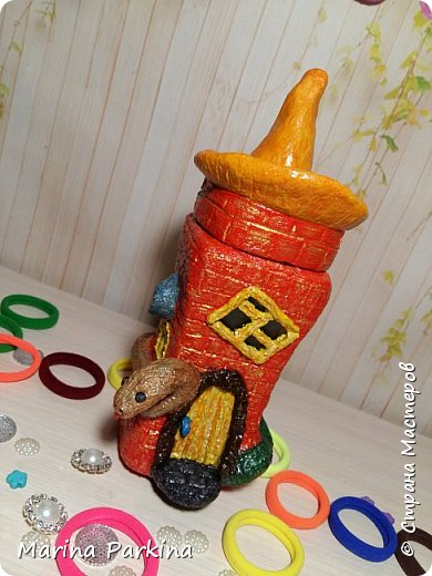 Волшебный домик (ночью) и ещё одна фантазия фото 7