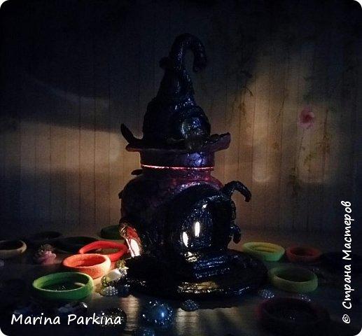 Волшебный домик (ночью) и ещё одна фантазия фото 2