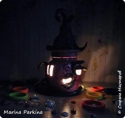 Волшебный домик (ночью) и ещё одна фантазия фото 6