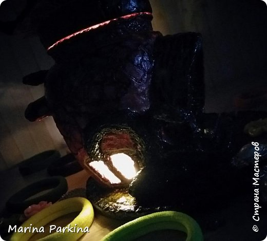 Волшебный домик (ночью) и ещё одна фантазия фото 5