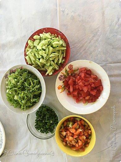 """Привет! :3 Я вернулась в СМ!!!)))))) Сегодня я покажу рецепт арабского народного блюда- фалАфеля в пИте. В первые попробовала фалафель, когда отдыхала в Израиле. Теперь это блюдо стало одним из самых популярных блюд моей семьи))). Фалафель - это шарики из нута обжаренные в масле. Фалафель, хумус (паста из нута), разнообразные овощи - всё это кладётся в питу- лепёшку с разрезом внутри. Понадобятся: 1. нут- 0,5 кг. (у нас, в России нут можно купить почти в любом супермаркете) 2. лук - 2 шт. 3. чеснок-4 зуб. 4. зелень по вкусу (кинза, укроп) 5. приправа """"Карри"""" 6. пита 5- 6 шт. Пита - арабская лепёшка с разрезом внутри. Её можно купить почти во всех супермаркетах. 7. Огурцы, помидоры, салат, болгарский перец и т. д по вашему вкусу.  8. Немного панировочных сухарей 9. Хумус (можно купить почти везде) по вкусу. Вот что получается))). фото 5"""