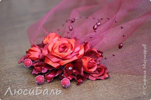 Вуалетка для подружки невесты. фото 1