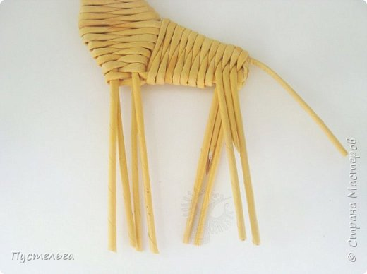 Лето, жара! Сплетём-ка мы жирафа! И ещё верблюда. фото 18