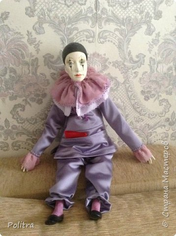 Арлекино ----авторская кукла