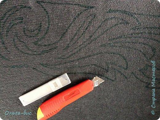 Сделала себе ажурный ламбрекен из ковролина!!  фото 6
