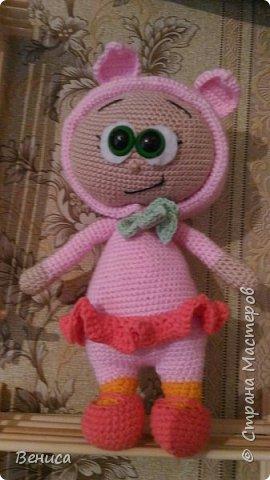 кукла Бонни в костюме поросенка